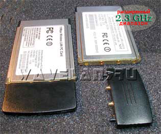 Z-Com XI-325H, XI-325HP, XI-325HP2 Wireless High Power PCMCIA (Type II) LAN card